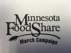 2018 Minnesota Food Share March Campaign